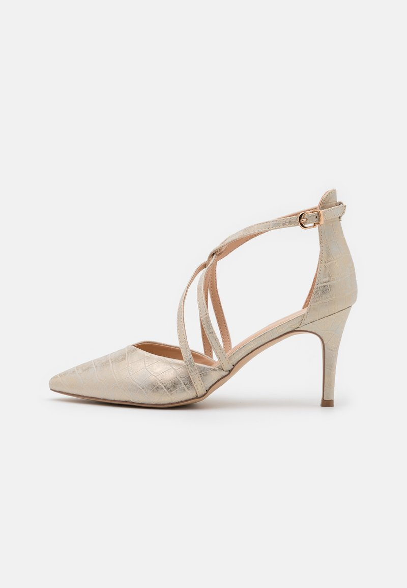 Wallis Wide Fit - WINTERBERRY - Klassiske pumps - beige