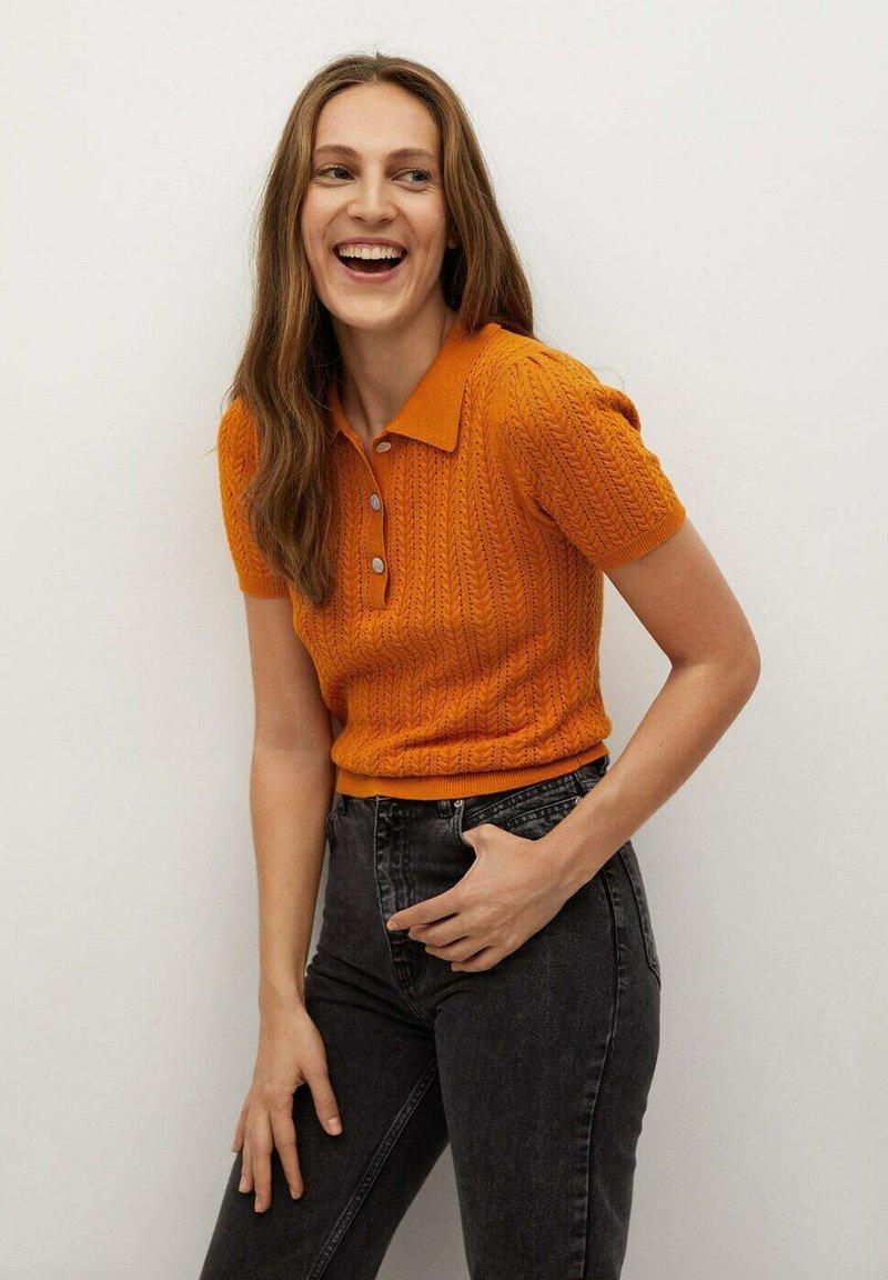 Mango - TELLON - Polo shirt - oranje