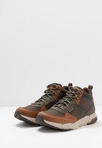 Skechers - METCO BELTOP - Sneaker high - brown/olive - 2