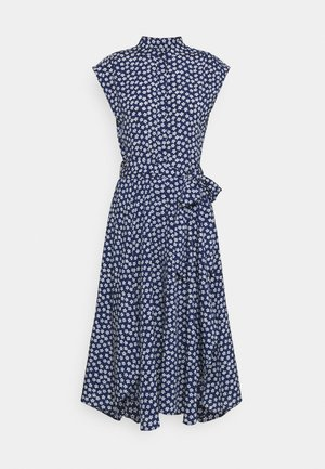 DRESS - Skjortklänning - french navy/multi