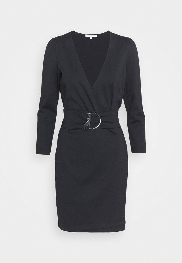 ABITO DRESS - Vestito di maglina - nero