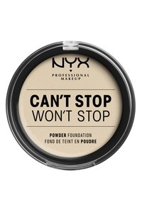 Nyx Professional Makeup - CAN'T STOP WON'T STOP POWDER FOUNDATION - Puder - CSWSPF04 light ivory - 1