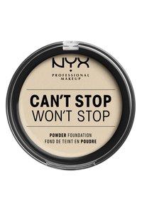 Nyx Professional Makeup - CAN'T STOP WON'T STOP POWDER FOUNDATION - Powder - CSWSPF04 light ivory - 1