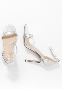 4th & Reckless - JASMINE - High heeled sandals - silver - 3