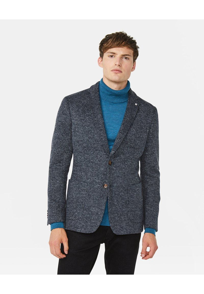 WE Fashion - Blazer jacket - greyish blue