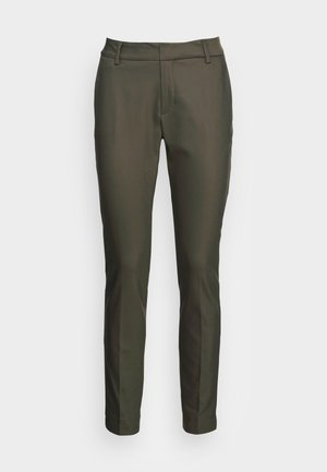 ABBEY NIGHT PANT SUSTAINABLE - Chinos - grape leaf