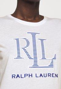 Lauren Ralph Lauren - T-shirt z nadrukiem - white - 4
