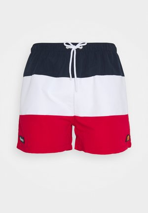 CIELO - Surfshorts - navy/white/red