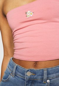 Hollister Co. - REVERSIBLE TUBE - Top - dark pink - 5