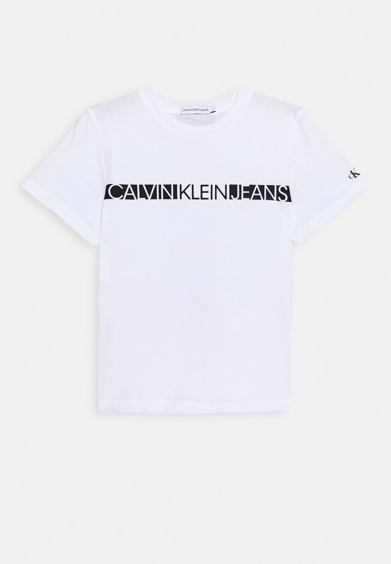 Calvin Klein Jeans - HERO LOGO - T-shirt basic - white