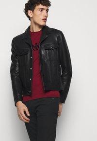 Emporio Armani - Jeans slim fit - black - 3