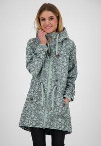 alife & kickin - CHARLOTTEAK - Short coat - slategray - 0