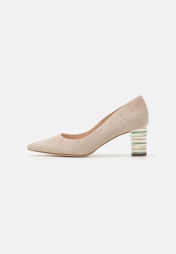 JOLIET - Classic heels - sand