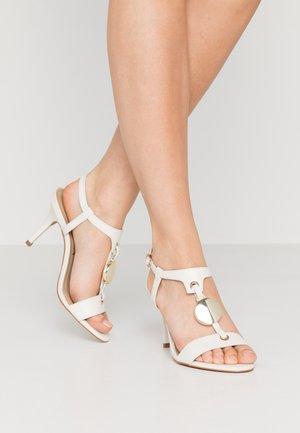 EMBI - Højhælede sandaletter / Højhælede sandaler - blanc