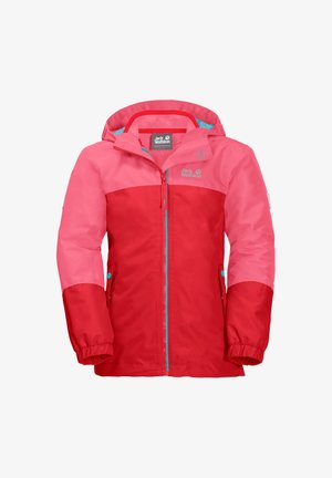 G ICELAND 3IN1 - Fleece jacket - coral pink