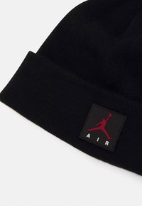 Jordan - AIR PATCH BEANIE SET UNISEX - Gloves - black - 3