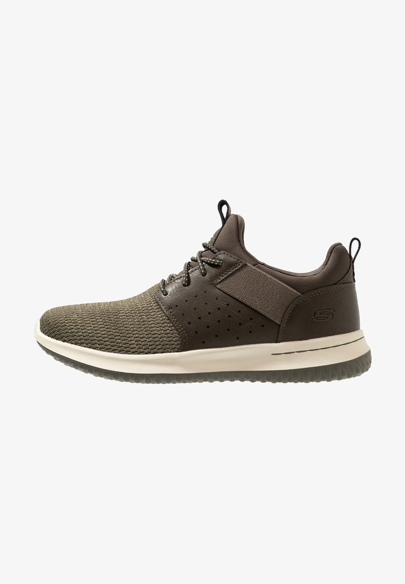 Skechers - DELSON - Loafers - olive