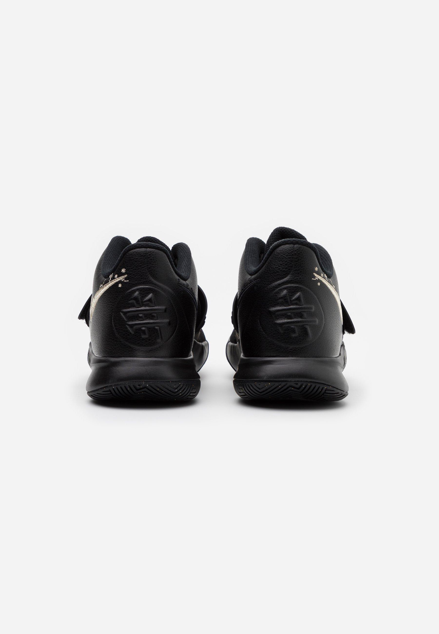 Nike Performance KYRIE FLYTRAP III - Basketballsko - black/metallic gold star