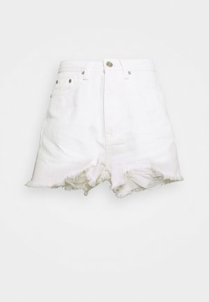 EXTREME FRAY RIOT - Jeansshorts - white