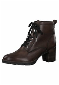 Tamaris - Lace-up ankle boots - cafe - 3