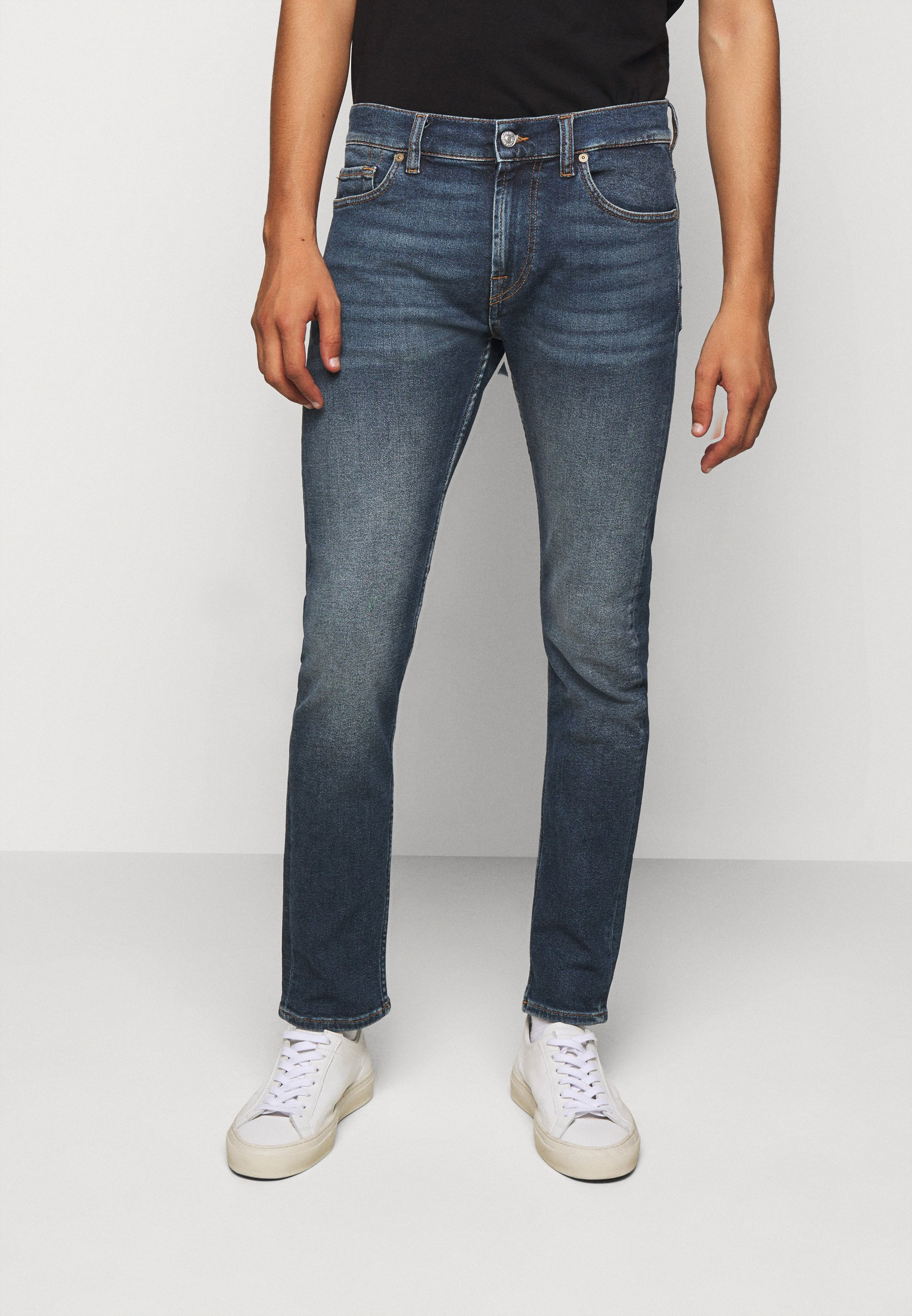 Uomo RONNIE LUXVINDEFBLU - Jeans slim fit