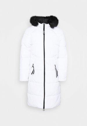 ONLMONICA LONG PUFFER COAT  - Zimní kabát - bright white