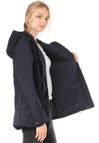 Jack Wolfskin - Waterproof jacket - blue - 3