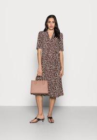 InWear - BEN WRAP DRESS - Jersey dress - coffee brown - 1