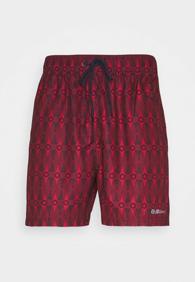 SHOAL BAY - Badeshorts - red