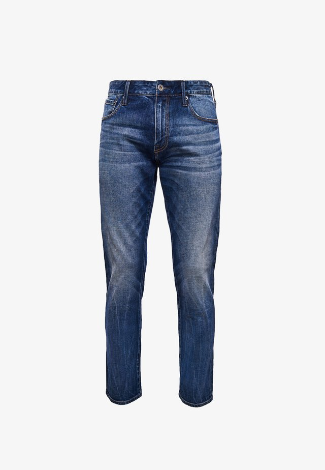 Jeans a sigaretta - sixway mid blue