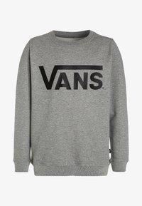Vans - Sweatshirt - concrete heather/black - 0