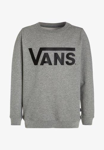 Sweatshirt - concrete heather/black