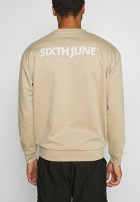 Sixth June - BASIC LOGO - Sweatshirt - beige - 5