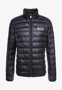 EA7 Emporio Armani - Down jacket - black / neon / yellow - 5