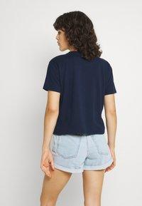 Hollister Co. - Basic T-shirt - navy - 2