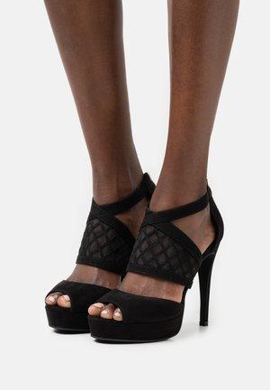 COMFORT - Sandales à talons hauts - black