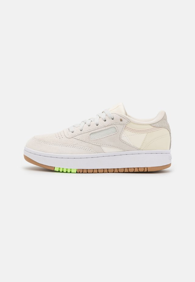 CLUB C DOUBLE - Trainers - chalk/classic white/morning fog