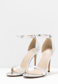 4th & Reckless - JASMINE - High heeled sandals - silver - 4