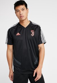 adidas Performance - JUVENTUS TURIN TR JSY - Club wear - black/dark grey - 0