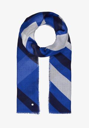ZIGZAG SCARF - Scarf - bright blue