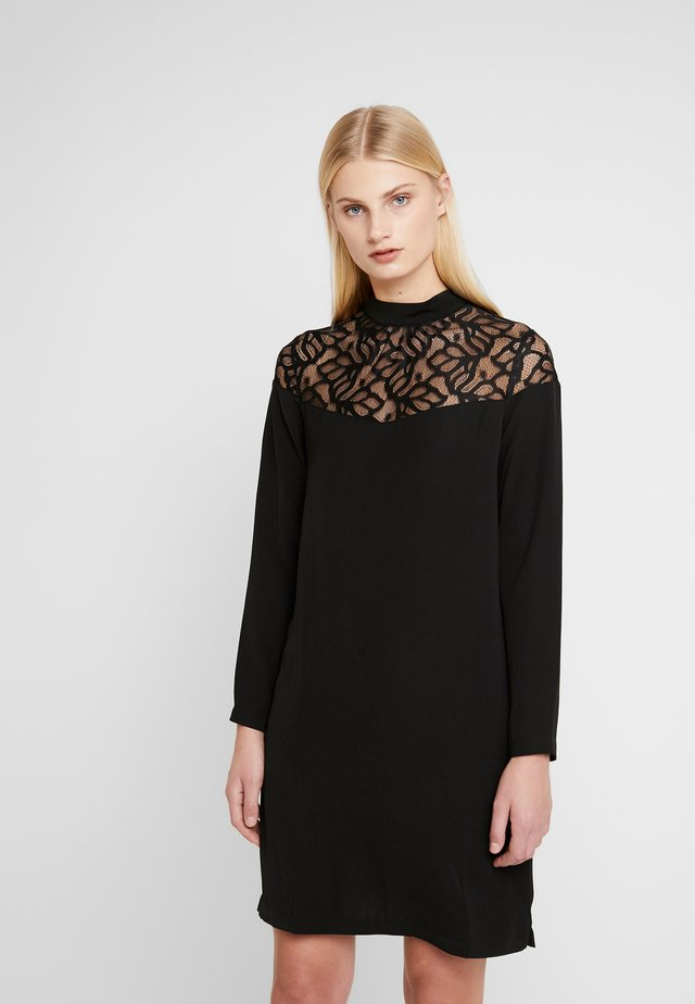 WARREN DRESS - Korte jurk - black