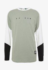 G-Star - BASEBALL R T L\S - Long sleeved top - olive/white/black - 0
