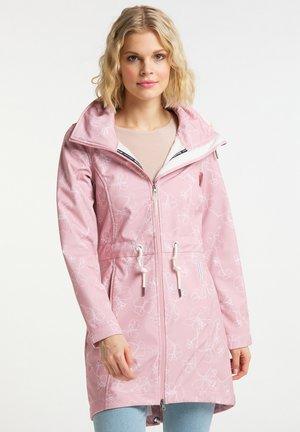 Waterproof jacket - pfirsichrosa