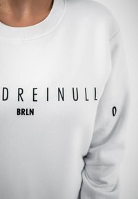 PLUSVIERNEUN - BERLIN - Sweatshirt - white - 7