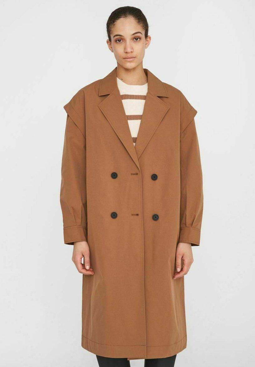 Damer DOPPELREIHIGE - Klassisk frakke