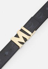 MCM - CLAUS REVERSIBLE BELT UNISEX - Belt - black - 4