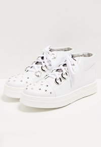 faina - High-top trainers - white