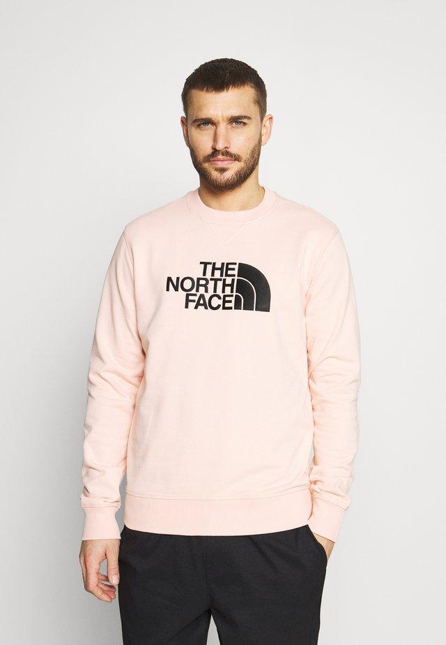 DREW PEAK CREW LIGHT - Sweater - evening sand pink