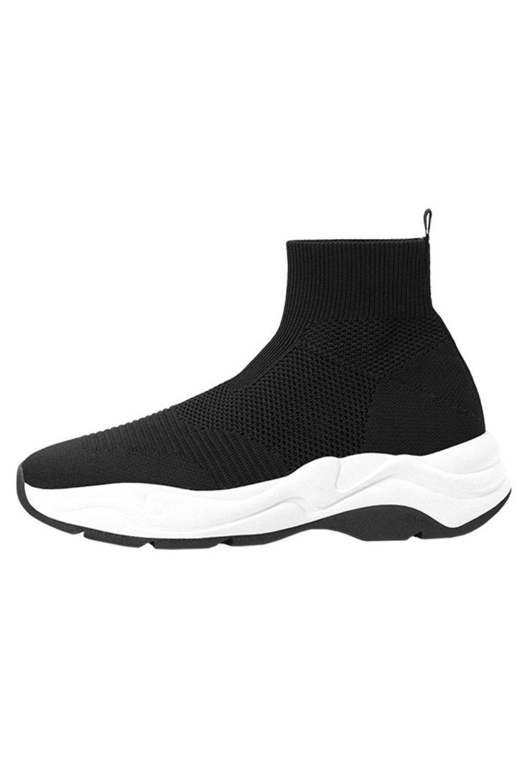 MIT ELASTISCHEM SCHAFT Sneakers black