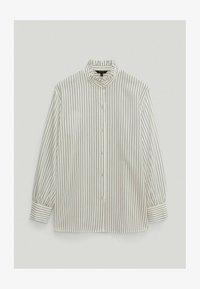 Massimo Dutti - Button-down blouse - white - 3